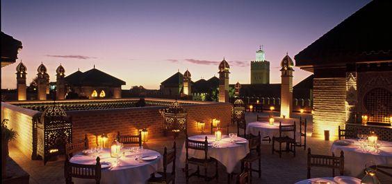 Sur les terrasses emblématiques pour découvrir Marrakech