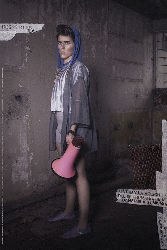 Trabajo de grado, 2014. Proyecto de Camila Acosta. Fotografía: Mario Acosta. #moda