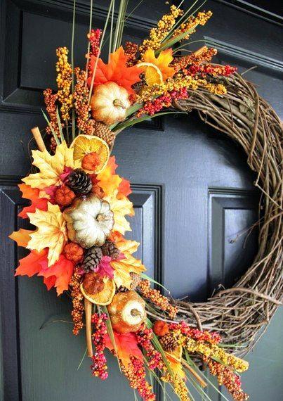 Осенний веночек | HandMade