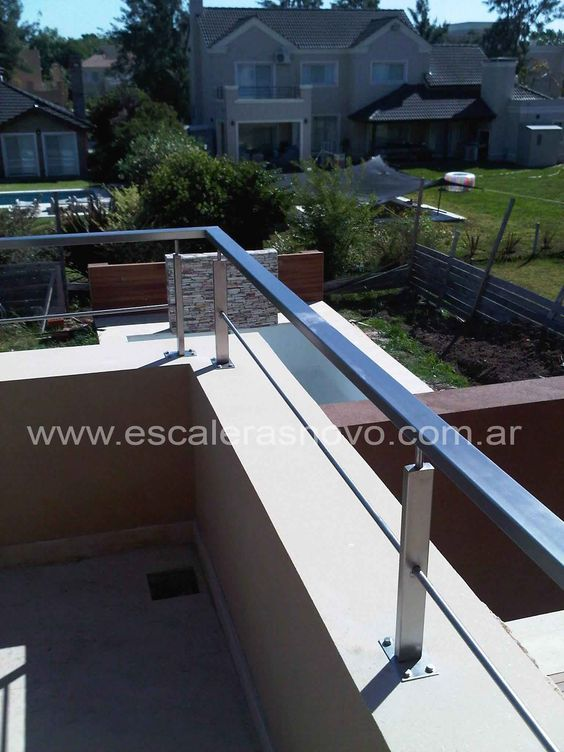Baranda con tensores n29 venta de escaleras y barandas - Baranda de escalera ...