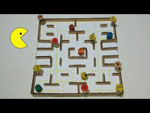 Como Fazer Um Jogo Do Pacman Em Casa Youtube Crafts Robotics Projects Projects