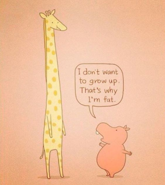 Alright? #girafe #cochon #to grow up #cute