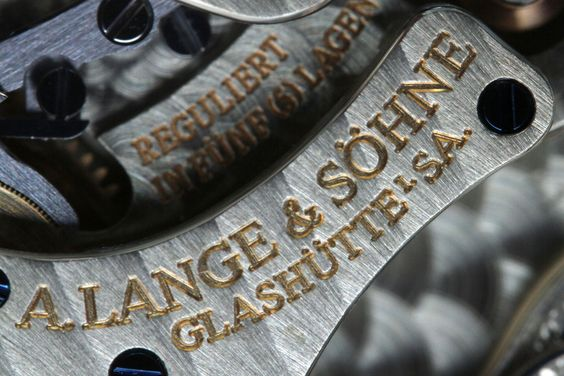 Manufaktur-Kalber von A. Lange & Söhne