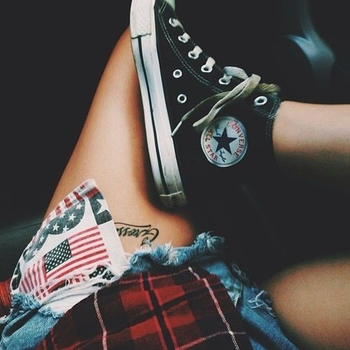 I love high top converse! But I never see them anymore!? Am I a hipster? Haha