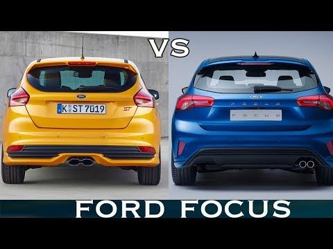 Old Vs New 2019 Ford Focus Visual Design Comparsion Youtube