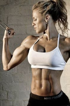 Just because a girl lifts doesnt mean she's going to become a body builder.