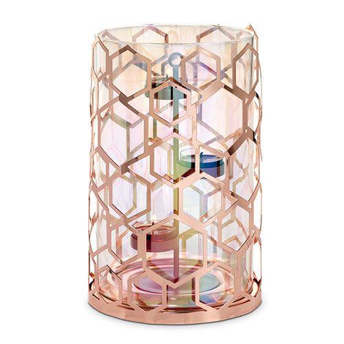 Lampe Tempete Alveole Decoration Bougies Lampe Tempete Lampe