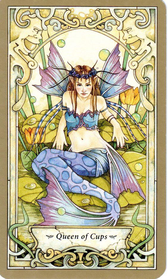 Mystic, Tarot And Queen Of On Pinterest