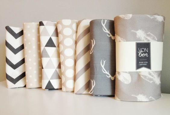 MUST NEWBORN ORGANIC COTTON | ... organic cotton blankets by Vonbon , a new line of luxury baby