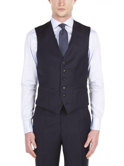 Classic Navy Waistcoat