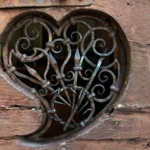 ~Heart of the Door/ Piosogno Church, Italy~