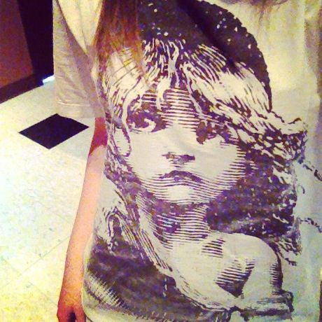 My young Cosette shirt from London