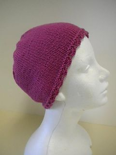 """Basic Chemo Cap"" designed by Doreen L. Marquart."