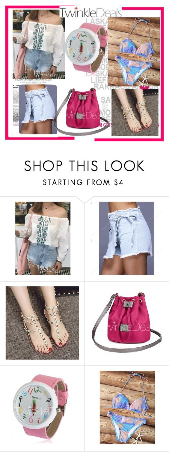 """a little more summer, autumn is on the threshold-VII/2"" by nihada-niky ❤ liked on Polyvore featuring twinkledeals"