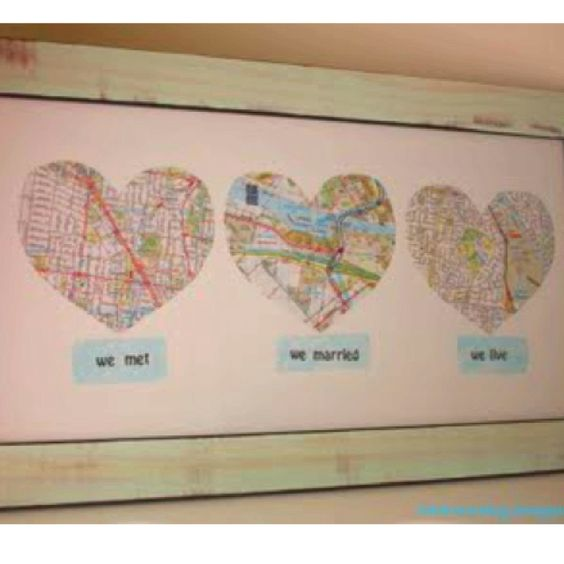 We met, we married, we live  This is cute, wish I had have seen it before the first wedding anniversary (which is paper!)