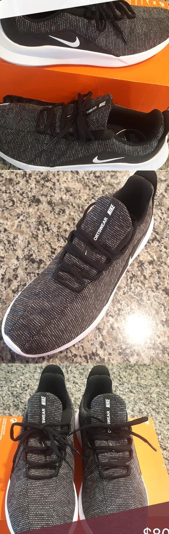 Nikes Mens Running Shoe Black Nikes Mens Shoes Sport Wear ...