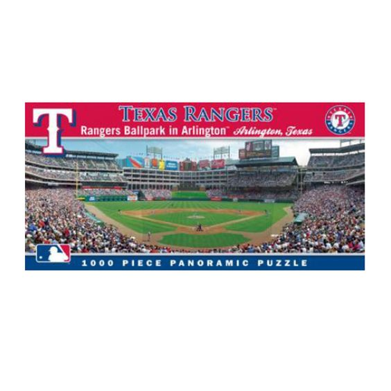 1000 Piece Ballpark Puzzle - Texas Rangers