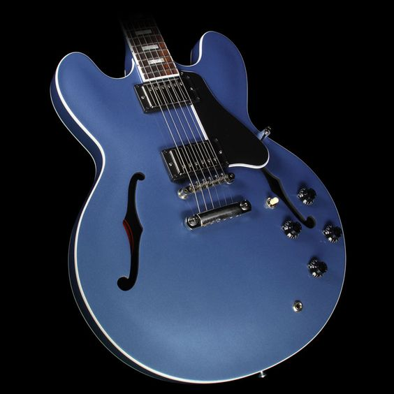 2016 Gibson Memphis Limited Edition ES-335 Electric Pelham Blue