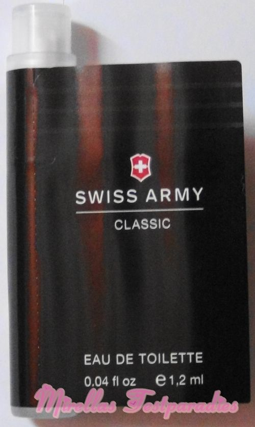 I get the sample Swiss Army Classic from Victorinox for free.