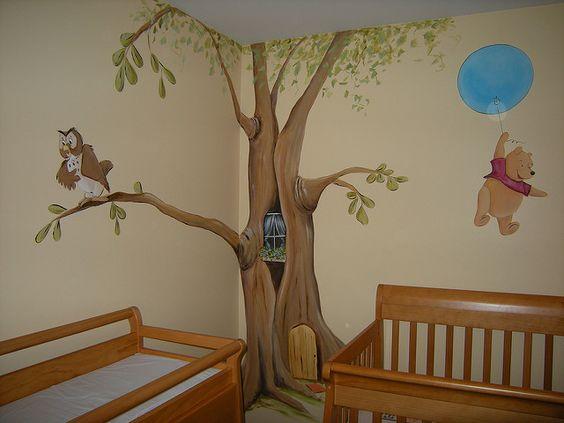 Winnie the Pooh Baby Nursery Mural | Flickr - Photo Sharing!