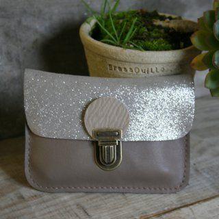 Fabriquer un porte-monnaie en cuir pailleté - Marie Claire Idées