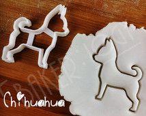 Cortador de la galleta de perro Chihuahua | galleta | pastillaje (fondant)…