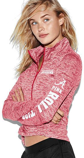 PINK University of Alabama Ultimate Deep Zip