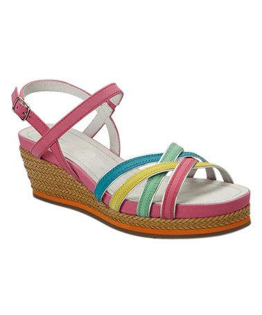 This Candy Pool Madge Leather Sandal by ara is perfect! #zulilyfinds