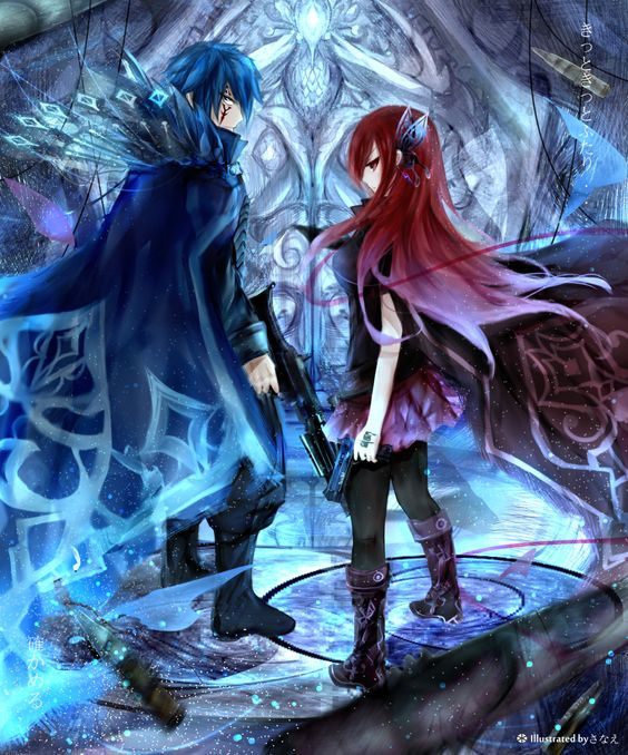 Fairy Tail | Erza and Jellal | Fairy Tail | Pinterest ...