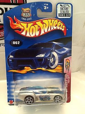 (TAS004524) - Hot Wheels Flamin' Hot Wheels 3/5 Pony-Up - Collector #062