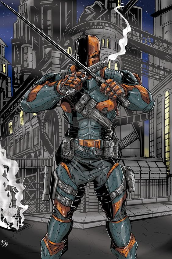 Dc Comics Fans : Deathstroke the terminator and fans on pinterest