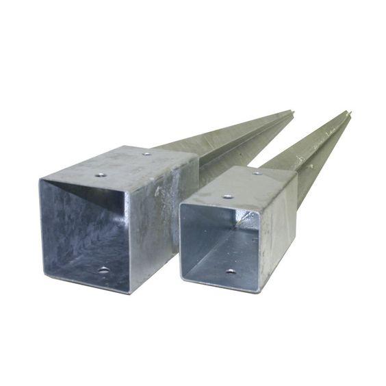 Pfostenträger Einschlag-Bodenhülse 71 mm, 91 mm Einschlaghülse