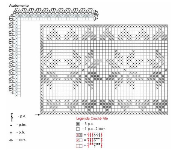 Украшение подушек кружевом крючком. Идеи и схемы (1) (700x614, 379Kb)