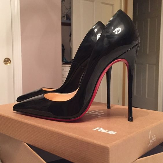 "Christian Louboutin So Kate 120mm Pointed toe and super fine stiletto heel. Worn once, so shoes are in excellent condition! Comes with original box and bag. Has ""Protect Your Pumps"" non slip transparent adhesive that protects the soles from wear. Christian Louboutin Shoes Heels"