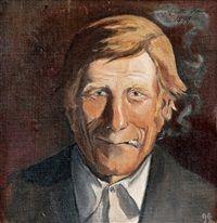 Smoking man by Antti Faven