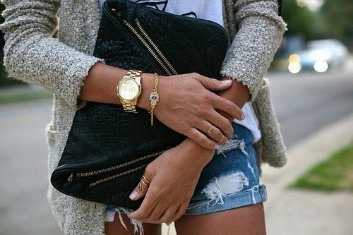 Lovely gold accents.