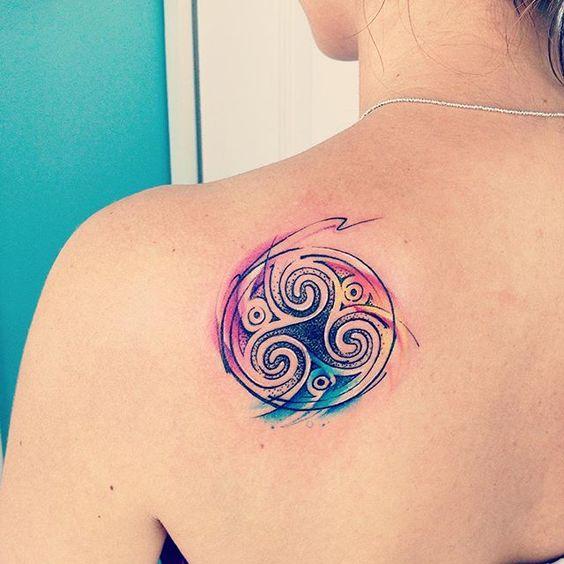 Abdominales colores and tatuaje en abdomen on pinterest - Tattoo disenos a color ...
