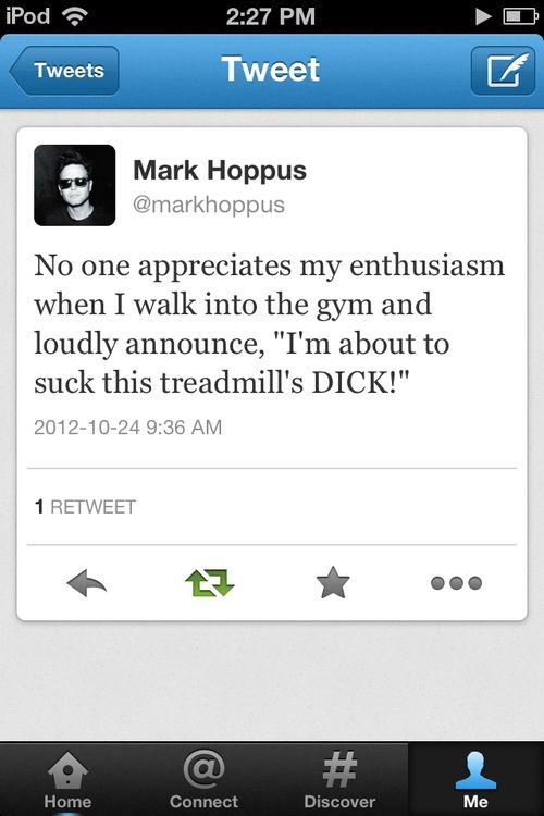 Mark Hoppus, everyone.