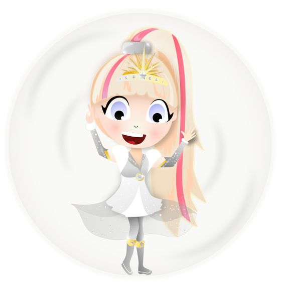 Hiroko's Super Duper Princess Heroes transformation! #SuperDuperPrincessHeroes #SDPH
