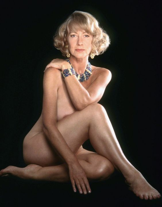 Helen Mirren is proof that sweet wine isn't the only thing that gets better with age.: