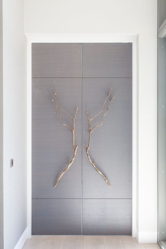 Stephenson Wright Project | Ironmongery | Bronze branch handles | Joinery | Interior Design