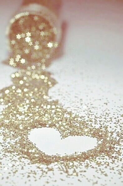 Glitter just makes everything a little more special.