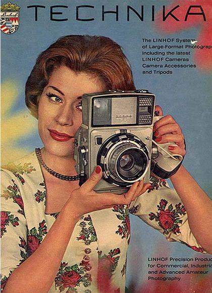 VINTAGE SIGHT: Vintage Camera Ads