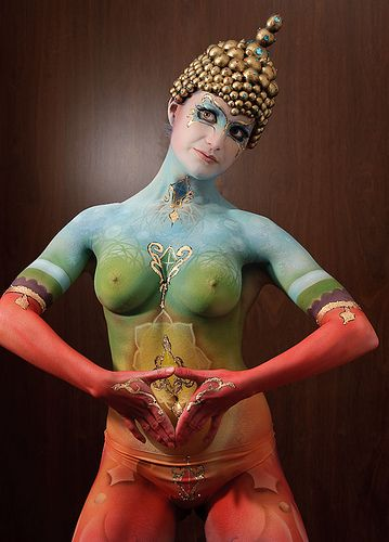 Winner of Airbrush Category in NZ body painting awards