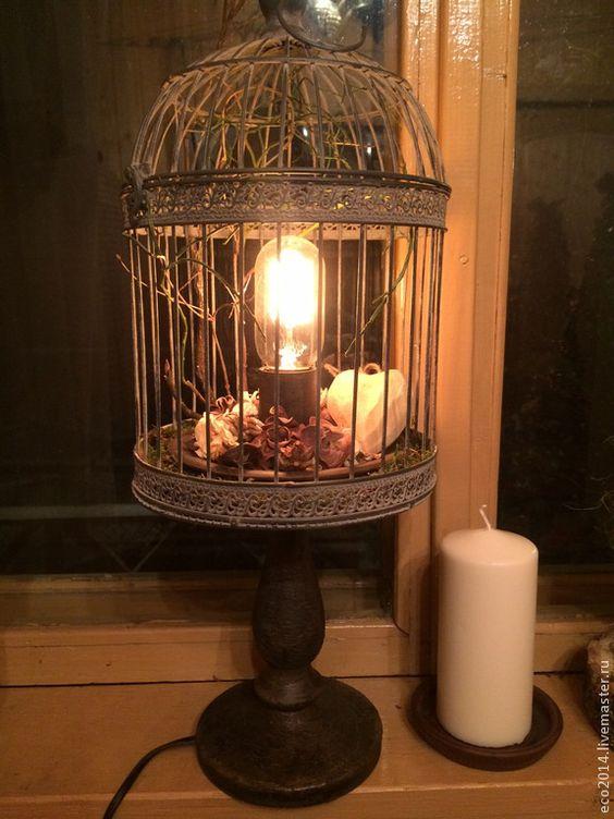"""main d'éclairage.  Lampe de table """"Northern Lights"""".  Design Workshop EcoShiningHome.  Boutique en ligne Foire maîtres.  Gris clair"""