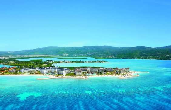 Aerial view of Secrets St. James Montego Bay and Secrets Wild Orchid Montego Bay.  Top travel destinations for 2016 - Business Insider