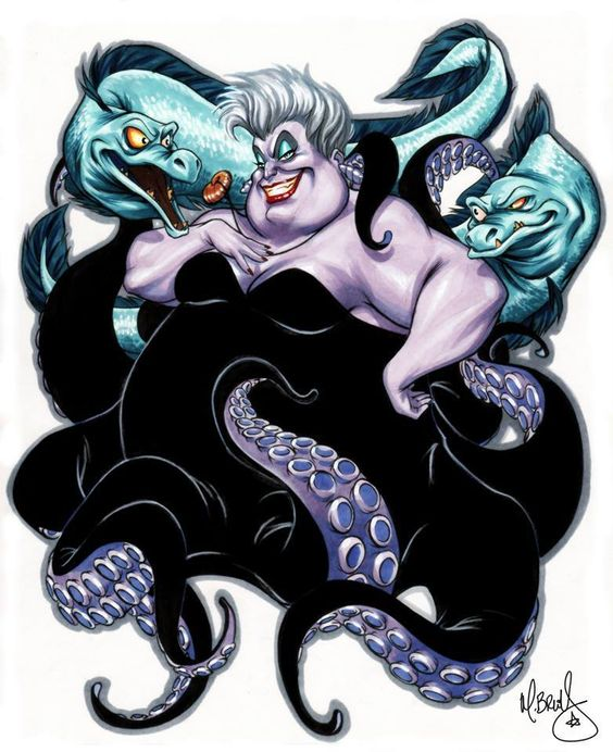 Ursula by Mark Brooks *-ya'll know I can pull it off, I just need to figure out how...: