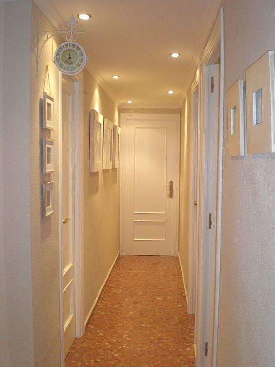 Necesito consejo como pintar pasillo porfiiiii luces y for Puertas de cristal para interiores