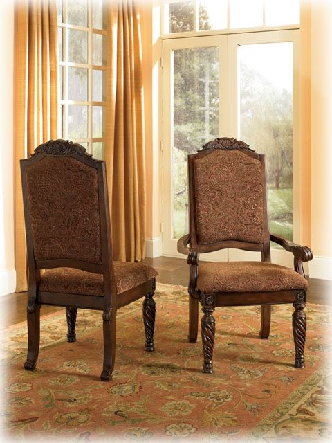 North Shore Dining UPH 2 Side Chairs