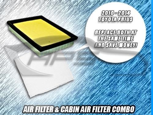 Air Filter Cabin Filter Combo For 2011 2012 2013 2014 2015 2016 Toyota Prius